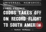 Image of Paul Codos Paris France, 1937, second 8 stock footage video 65675057736
