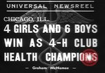 Image of 4-H clubs health winners Chicago Illinois USA, 1937, second 11 stock footage video 65675057737