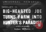Image of rabbit hunting Shelby Ohio USA, 1937, second 1 stock footage video 65675057738