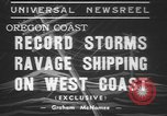 Image of storm Oregon United States USA, 1937, second 9 stock footage video 65675057740