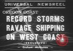 Image of storm Oregon United States USA, 1937, second 10 stock footage video 65675057740
