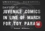 Image of toy parade Dayton Ohio USA, 1937, second 1 stock footage video 65675057745