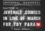 Image of toy parade Dayton Ohio USA, 1937, second 2 stock footage video 65675057745
