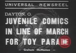 Image of toy parade Dayton Ohio USA, 1937, second 3 stock footage video 65675057745