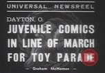 Image of toy parade Dayton Ohio USA, 1937, second 6 stock footage video 65675057745
