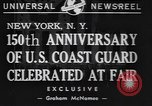 Image of 150th anniversary New York United States USA, 1940, second 2 stock footage video 65675057746