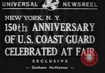 Image of 150th anniversary New York United States USA, 1940, second 3 stock footage video 65675057746