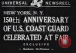 Image of 150th anniversary New York United States USA, 1940, second 4 stock footage video 65675057746