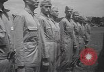 Image of parachute platoon New Jersey United States USA, 1940, second 11 stock footage video 65675057747