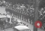 Image of Red Cross parade Moncton Canada, 1940, second 8 stock footage video 65675057750