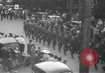 Image of Red Cross parade Moncton Canada, 1940, second 11 stock footage video 65675057750