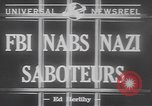 Image of Nazi spies United States USA, 1942, second 3 stock footage video 65675057751