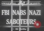 Image of Nazi spies United States USA, 1942, second 4 stock footage video 65675057751