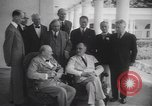Image of Winston Churchill Washington DC USA, 1942, second 10 stock footage video 65675057753