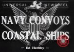 Image of American Naval Fleet Atlantic Ocean, 1942, second 1 stock footage video 65675057755