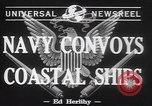 Image of American Naval Fleet Atlantic Ocean, 1942, second 3 stock footage video 65675057755