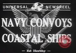 Image of American Naval Fleet Atlantic Ocean, 1942, second 5 stock footage video 65675057755