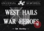 Image of World War II heroes welcomed Los Angeles California USA, 1942, second 1 stock footage video 65675057760