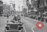 Image of World War II heroes San Francisco California USA, 1942, second 8 stock footage video 65675057762