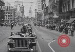 Image of World War II heroes San Francisco California USA, 1942, second 9 stock footage video 65675057762