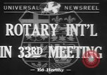 Image of Rotary International Toronto Ontario Canada, 1942, second 1 stock footage video 65675057763