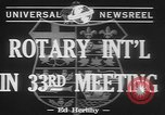 Image of Rotary International Toronto Ontario Canada, 1942, second 3 stock footage video 65675057763