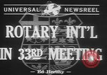 Image of Rotary International Toronto Ontario Canada, 1942, second 6 stock footage video 65675057763