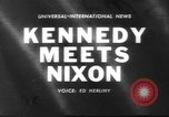 Image of John F Kennedy Key Biscayne Florida USA, 1960, second 1 stock footage video 65675057774