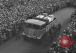 Image of funeral procession Ireland, 1960, second 9 stock footage video 65675057788