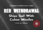 Image of Russian ships Atlantic Ocean, 1962, second 5 stock footage video 65675057790