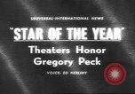 Image of Gregory Peck Bal Harbour Florida USA, 1962, second 1 stock footage video 65675057792