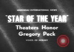 Image of Gregory Peck Bal Harbour Florida USA, 1962, second 2 stock footage video 65675057792