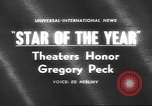 Image of Gregory Peck Bal Harbour Florida USA, 1962, second 5 stock footage video 65675057792