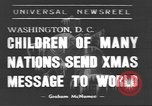 Image of International Christmas broadcast Washington DC USA, 1938, second 1 stock footage video 65675057811