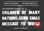 Image of International Christmas broadcast Washington DC USA, 1938, second 3 stock footage video 65675057811