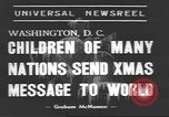 Image of International Christmas broadcast Washington DC USA, 1938, second 4 stock footage video 65675057811
