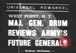 Image of Major General Hugh Drum New York United States USA, 1939, second 1 stock footage video 65675057814