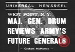 Image of Major General Hugh Drum New York United States USA, 1939, second 2 stock footage video 65675057814