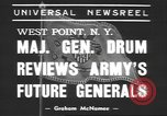 Image of Major General Hugh Drum New York United States USA, 1939, second 3 stock footage video 65675057814