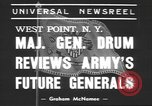 Image of Major General Hugh Drum New York United States USA, 1939, second 4 stock footage video 65675057814