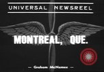 Image of Canadian bomber Montreal Quebec Canada, 1939, second 1 stock footage video 65675057816