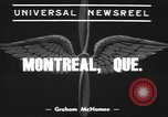 Image of Canadian bomber Montreal Quebec Canada, 1939, second 2 stock footage video 65675057816