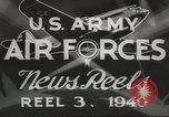 Image of World War II United States USA, 1940, second 3 stock footage video 65675057831