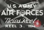 Image of World War II United States USA, 1940, second 12 stock footage video 65675057831