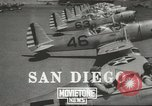 Image of Army Air Corps training San Diego California USA, 1940, second 1 stock footage video 65675057835