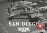 Image of Army Air Corps training San Diego California USA, 1940, second 3 stock footage video 65675057835