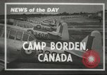 Image of Royal Canadian Air Force Ontario Canada, 1940, second 1 stock footage video 65675057838