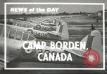 Image of Royal Canadian Air Force Ontario Canada, 1940, second 2 stock footage video 65675057838