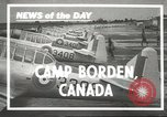 Image of Royal Canadian Air Force Ontario Canada, 1940, second 3 stock footage video 65675057838
