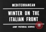 Image of snow covered area Italy, 1944, second 5 stock footage video 65675057850